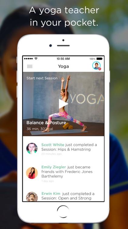 FitStar Yoga screenshot-0