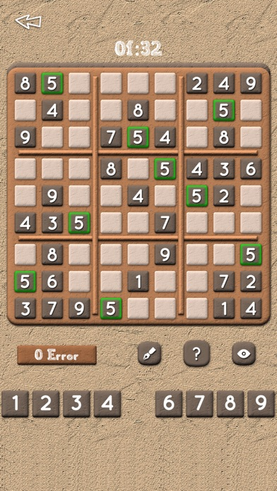Sudoku Puzzles Free - classic puzzle math logic game with
