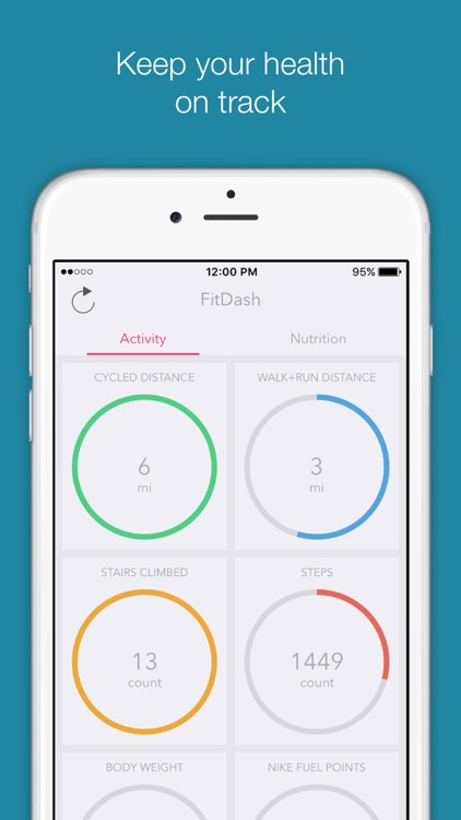 FitDash - Social Calorie, Activity and Nutrition Tracker