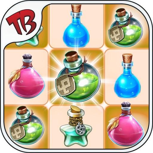 Magic Bottle Link - Link The Same Color Bottle To Eliminate Them