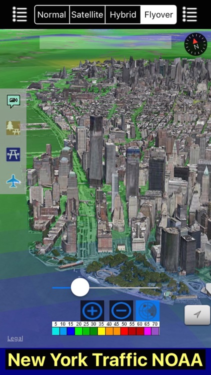 New York/NYC NOAA Radar with Traffic Cameras 3D Pro screenshot-4