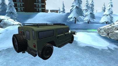 Snow Truck Parking - Extreme Off-Road Winter Driving Simulator FREEのおすすめ画像1