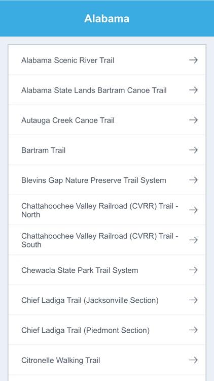 Alabama Recreation Trails