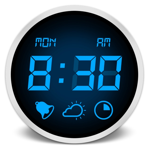 alarm clock on the mac app store. Black Bedroom Furniture Sets. Home Design Ideas