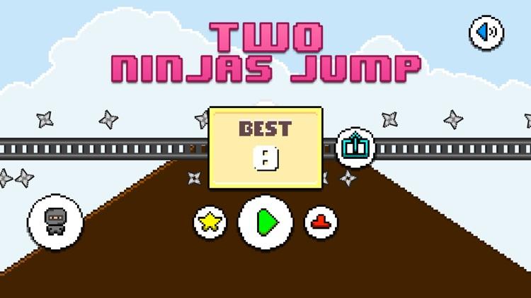 Two Ninjas Jump