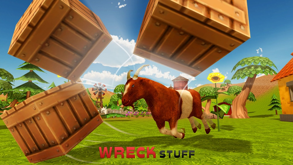 Goat Simulator 3D – A Goats Rampage In the City hack tool