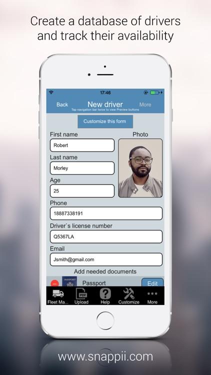Fleet Management App screenshot-3