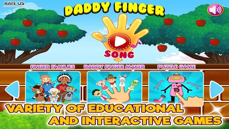 Daddy Finger Family Song screenshot-4