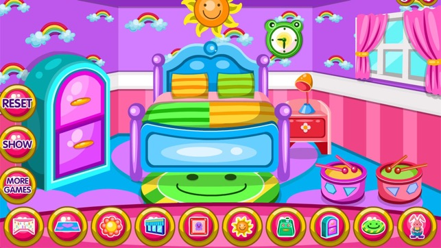 Twin baby room decoration game dans l app store for Baby bedroom decoration games