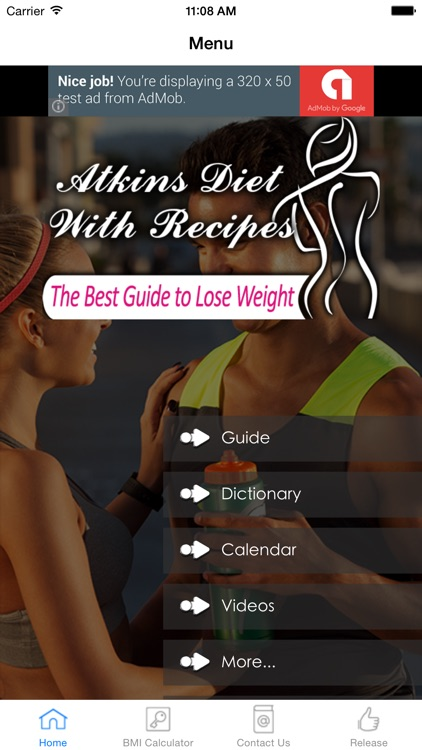 Atkins Diet & Recipes #1 Free App