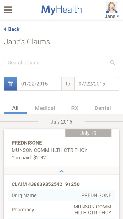 Spectrum Health MyHealth screenshot-4