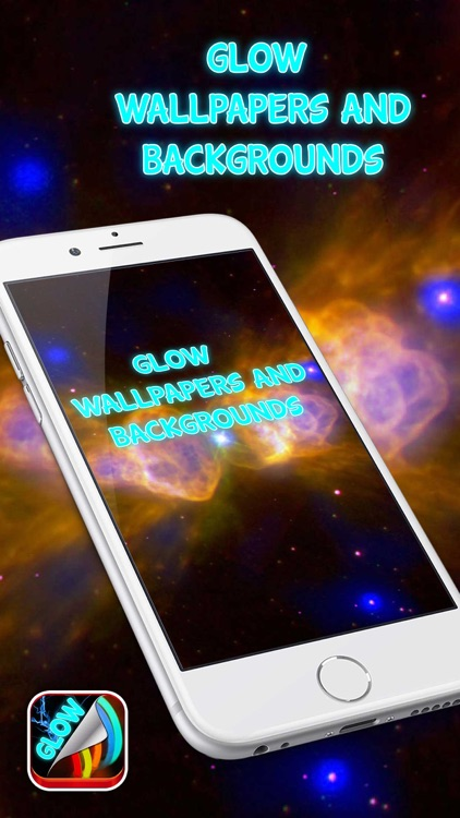 Glow Wallpapers and Backgrounds – Colorful Neon Picture.s for Custom Home & Lock Screen screenshot-0