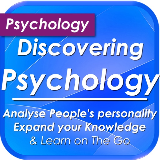 Discovering Psychology. Analyse people's personalities: 680 Study Notes & Quiz