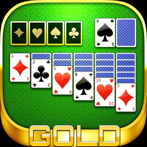 ソリティア GOLD - 1人用の 定番 トランプ ゲーム