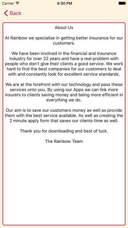 Insurance UK screenshot-4