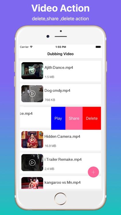 Dubbing Video Maker Pro