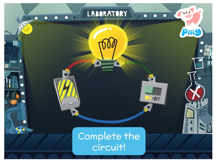 Piiig Labs: Science Experiments for Kids screenshot-3