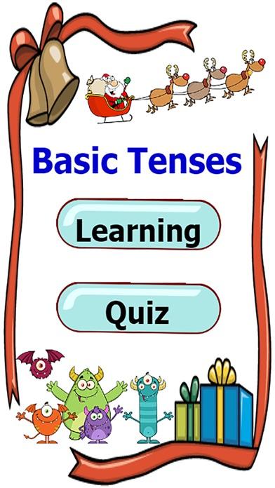 檢查語法在使用基本的英語時態練習比賽屏幕截圖1