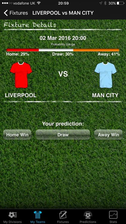 iPredict Football Results screenshot-3