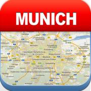 慕尼黑离线地图 - 城市 地铁 机场