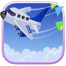 Fly Paper Plane Addictive Game Fun