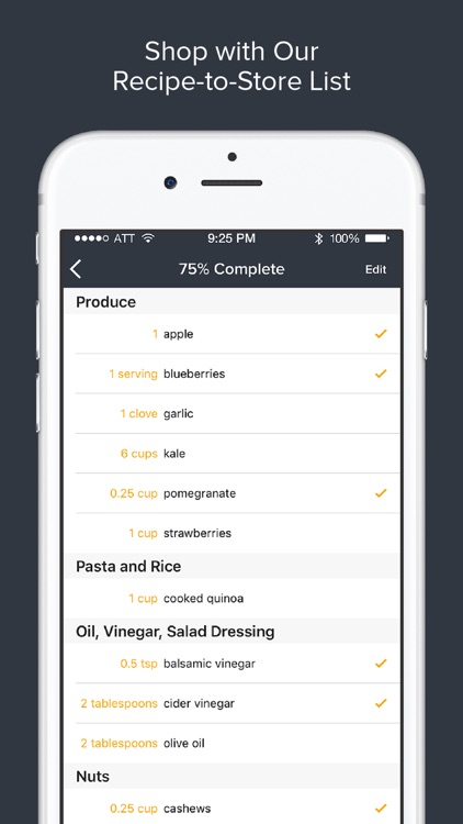 Athleats Pro– Recipe, Calorie Counting & Meal Plan app image