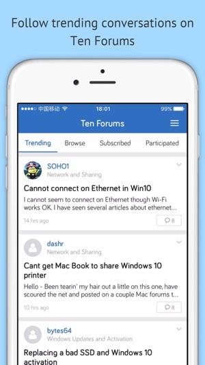 ten forums