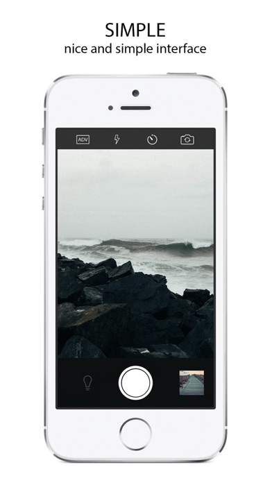 Shutter - マニュアルカメラ manual cameraのスクリーンショット