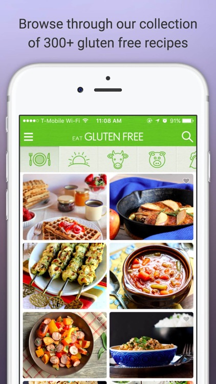 Eat Gluten Free - Delicious Gluten Free Diet Recipes and Meals