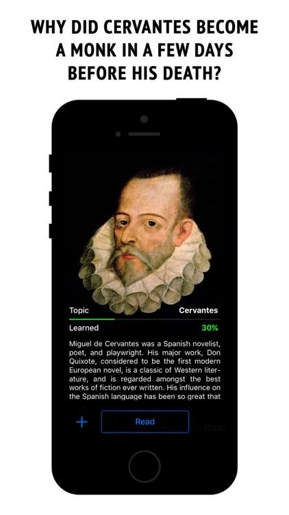 Cervantes - interactive book