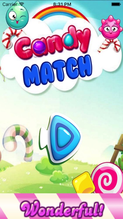 Candy Star Matching Mania HD-Puzzle Game For All