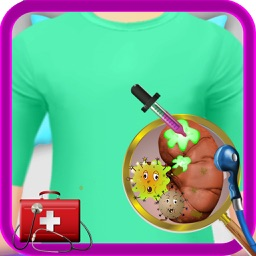 Kidney Surgery – Crazy surgeon & doctor hospital game for kids