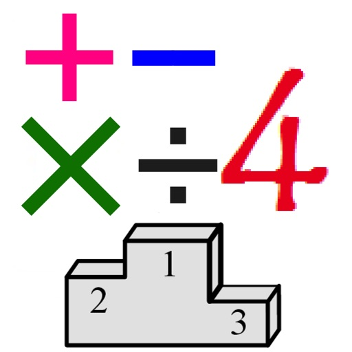 4 Numbers Math Game