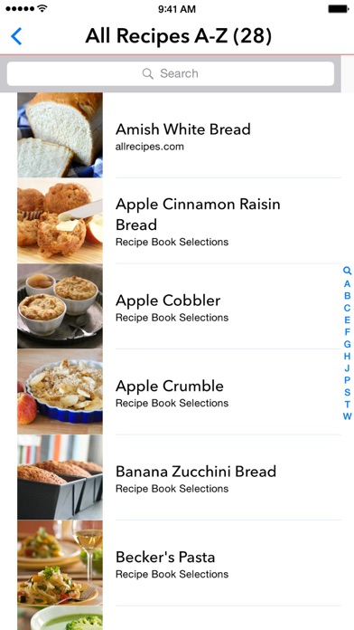 My Recipe Book - Your recipes, finally organized. app image