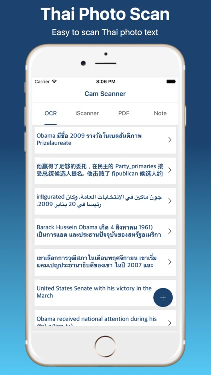 Thai Image OCR Scanner  and Translator Pro screenshot-0