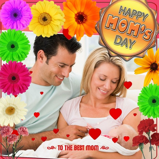 Mother's Day Photo Frames (HD) iOS App
