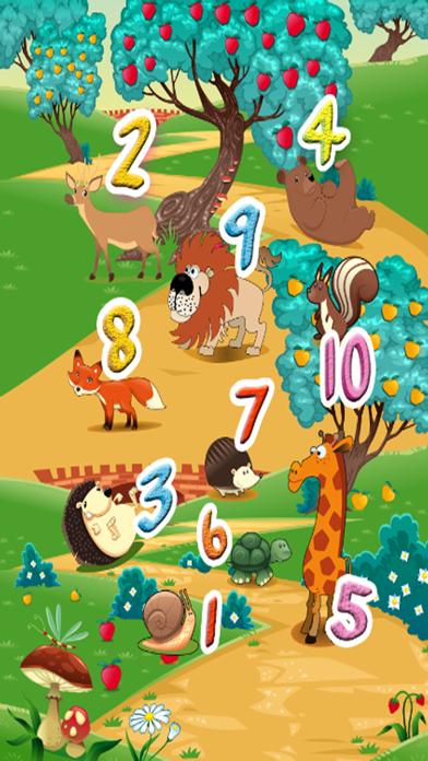Screenshot of Impara l'inglese V1: imparare i numeri da 1 a 10 - Giochi di istruzione gratuita per i bambini e bambini2