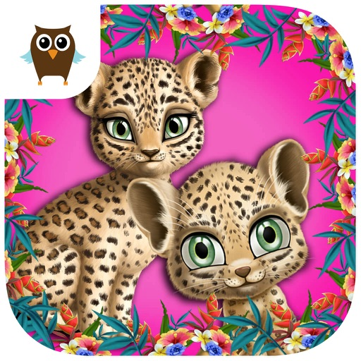 Baby Jungle Animal Hair Salon - No Ads icon