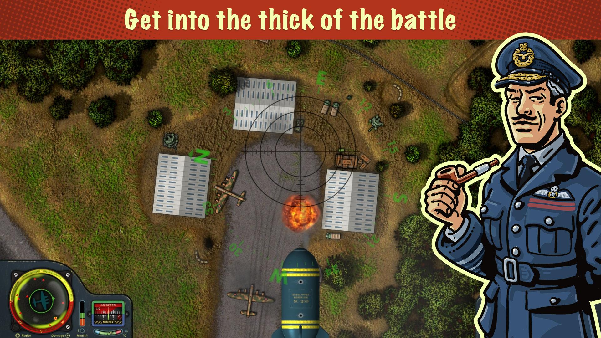 iBomber Winter Warfare screenshot 15