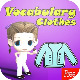 Learn English Vocabulary Clothes:Learning Education Games For Kids Beginner