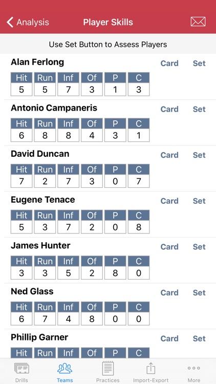 Big Time Coach - Practice Planner - Baseball screenshot-4