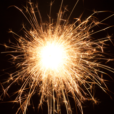Activities of Fireworks and Sparks - Explosions of colour for all ages