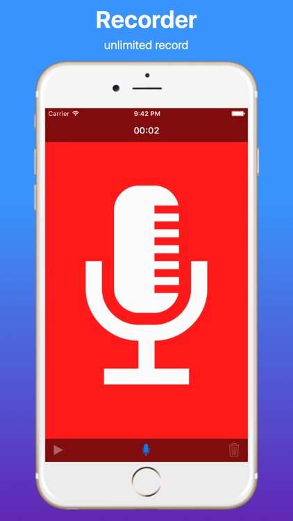 Unlimited Voice iRecorder screenshot-3
