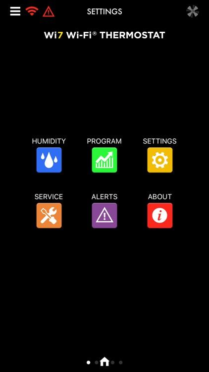 Fast Wi7 Wi-Fi® Thermostat screenshot-3