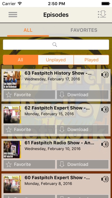 Fastpitch Radio Network