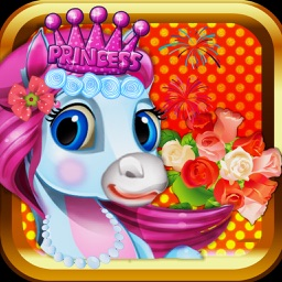 Unicorn & Pony Wedding Day - A virtual pet horse marriage makeover game