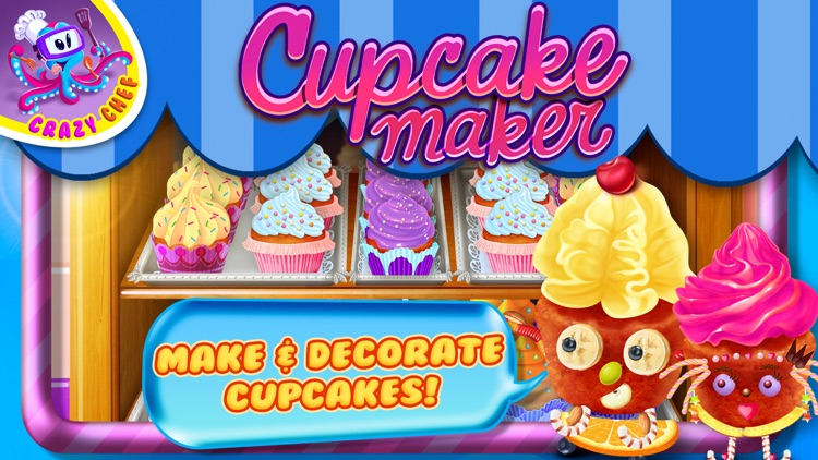 Cupcake Crazy Chef - Make & Decorate Your Own Muffin Cake