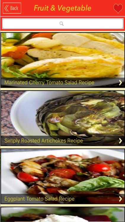 1000+ Fruit&Vegetable Recipes screenshot-3
