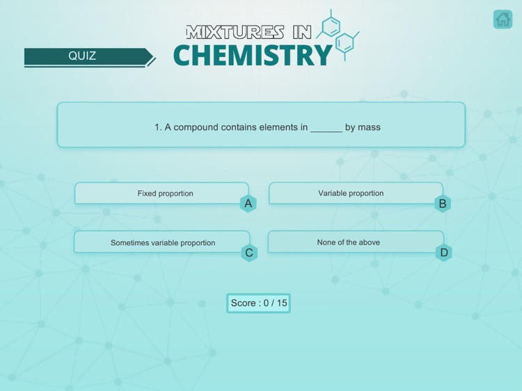 Mixtures in Chemistry screenshot-4