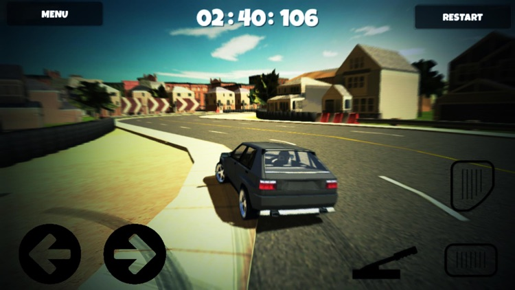 Classic Cars Simulator 3d 2015 : Old Cars sim with extream speeding and city racing screenshot-3
